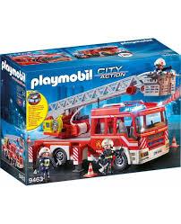 100 Playmobil Fire Truck CJ9463 Truck 9463