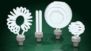 compact fluorescent light bulbs cfls obj step iges 3d cad