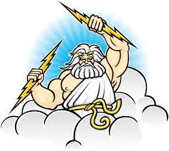 Lightning Bolt Of Zeus