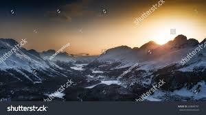 100 Muottas Muragl Engadin Valley St Moritz Stock Photo Edit Now