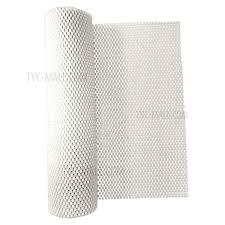 gittermuster pvc nicht klebende griff liner regaleinlage rutschfeste matte schubladenlage badezimmer küche wasserdichte bodenmatte weiß