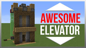 Minecraft Redstone Glowstone Lamp by The Fastest Way To The Top How To Build A Redstone Elevator In