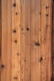 Natural Wood Texture Rough Grain Pine Panel Fence
