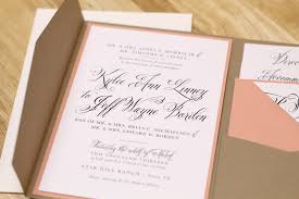 Brilliant Pocketfold Wedding Invitations Imposing Theruntime