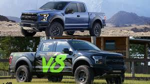100 Truck Comparison PaxPower Ford F150 Raptor V8 And Ford F150 Raptor EcoBoost