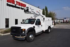 100 Ford Bucket Truck 2008 F550 Terex LT38 43 Big