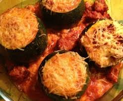 cuisiner courgette ronde courgettes rondes farcies recette de courgettes rondes farcies