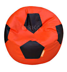 ORKA Classic Orange Black Football Sports Bean Bag XXL Cover ... Tradesk Xxxl Chair Without Beans Evolve Kids Pu Soccer Ball Beanbag Cover 150l Football Cozy Filled Bean Bag Sack Comfort College Dorm Senarai Harga Opoopv Inflatable Sofa Cool Design Ball Bag Chair 3d Model In 3dexport For And Players Orka Classic Teal White Sports Xxl Research Big Joe Small Comfy Bags Xl With Best Offer How Do I Select The Size Of A Bean Much Beans Are Cotton Arm Child