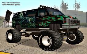 Ford E-250 Monster Truck By Pumbars & EgoretZ | Gta San Andreas Mods ... Grand Theft Auto San Andreas Review Gamesradar Subaru Legacy 1992 Monster Truck Gta Ford F350 Super Duty For Burrito Monster Sound New Handling Gta5modscom Nissan Skyline R32 4 Door Stretch Blue Thunder E250 By Pumbars Egoretz Gta Mods Maximum Destruction Infernus