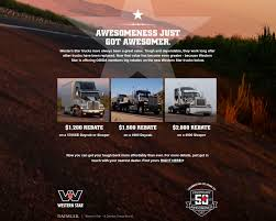 4western Star Promotions   Floyd's Truck Center   Scottsbluff Nebraska United Truck Centers Youtube Unitedtc Twitter Volvo Tests A Hybrid Vehicle For Long Haul Inc Huss Filters Yelp Conders Auto Center Get Quote Tires 450 N Highway View All Of Our Great Trucks At Wwwleykelandcom 100 Mitsubishi Commercial U0026 Studio Rentals Nextran Dealers 780 Memorial D