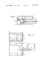 Hon Vertical File Cabinet Drawer Removal by Patent Us4272138 Cabinet Drawer Anti Tip Lock Device Google