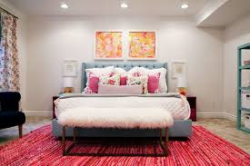I Think All Teen Girls Will Love This Bedroom With Bright And Fresh Colors A