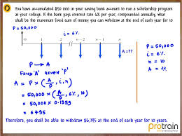 Sinking Fund Formula Derivation by 3 1 Time Value Of Money And Cash Flow