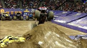 100 Monster Trucks Denver 2014 Jam YouTube