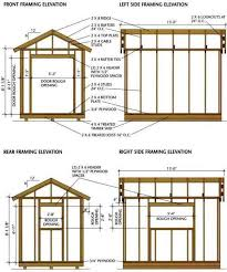 8 X 10 Gambrel Shed Plans by 25 Unique Shed Blueprints Ideas On Pinterest Outdoor Sheds