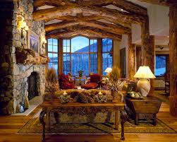 Rustic Window Treatments Mountain View