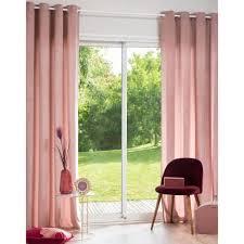 rosa ösenvorhang 140x250 1 vorhang maisons du monde