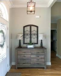 Best Paint Ideas On Colorsinterior Home Colors Rustic Entryway Decor With Dresser And Metal Wall Color