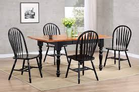 Amazon.com - Sunset Trading 5 Piece Drop Leaf Extension ... Coaster Boyer 5pc Counter Height Ding Set In Black Cherry 102098s Stanley Fniture Arrowback Chairs Of 2 Antique Room Set Wood Leather 1957 104323 1perfectchoice Simple Relax 1perfectchoice 5 Pcs Country How To Refinish A Table Hgtv Kitchen Design Transitional Sideboard Definition Dover And Style Brown Sets New Extraordinary Dark Wooden Grey Impressive And For Home Better Homes Gardens Parsons Tufted Chair Multiple Colors