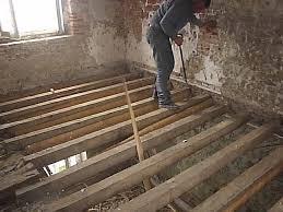 couler une chape sur plancher bois de conception de maison