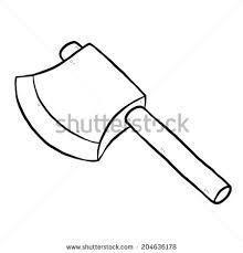 Unique Ax Clipart Black And White