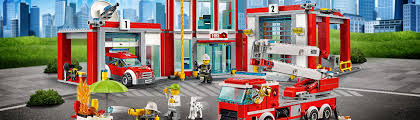 LEGO City: 'Fire Station' [60110] – ToysWorld