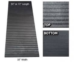 Sled Deck Ramp Width by Snowmobile Trailer Deck Ramp Glide Pads U0026 Traction Mats