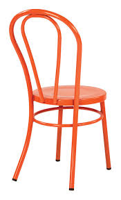Amazon.com: Odessa Metal Dining Chair With Backrest In Solid Orange ... Saddle Leather Ding Chair Garza Marfa Jupiter White And Orange Plastic Modern Chairs Set Of 2 By Black Metal Cafe Fniture Buy Eiffel Inspired White Orange With Legs Grand Tuscany Total Sizes Wd325xh36 Patio Urban Kitchen Shop Asbury With Chromed Velvet Vivian Of World Market Industrial Design Slat Back Products Flash Indoor Outdoor Table 4 Stack