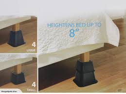 bed riser adjustable bed risers 8pc pack trade me