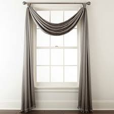 Jc Penney Curtains Martha Stewart by Window Scarves Jcpenney