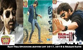 Ravi Teja Next Upcoming Movies List 2017