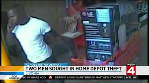 2 men sought in Livonia Home Depot theft