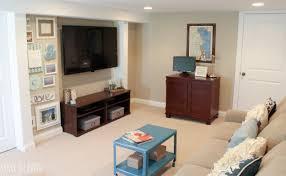 Living Room Makeovers Diy by A Big Basement Living Room Makeover