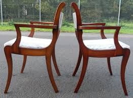 Upholstered Dining Chairs Set Of 6 by Regency Chairs Styles Regency Furniture Style Chairregency