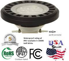 led par36 led bulb 15w 12v ac dc l landscape waterproof 3000k