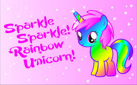 Unicorn Glitter Wallpaper 744238