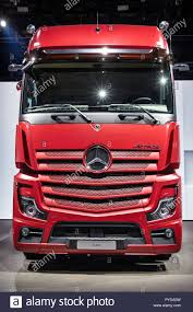 100 New Mercedes Truck HANNOVER GERMANY SEP 27 2018 2019 Actros 1853