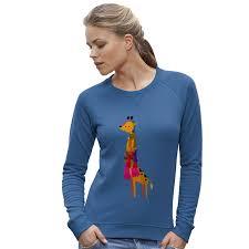 twisted envy women u0026 039 s funny giraffe wearing scarves funny