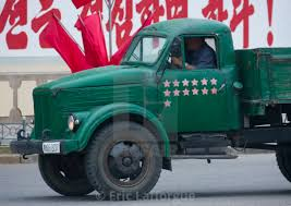 North Korean Truck With Red Stars One Star Represents 50000 Km Of ...