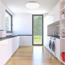b k licht led deckenleuchte tucana led board neutralweiß led bad deckenle inkl 18w 1600lm bad len ip44 küche flur