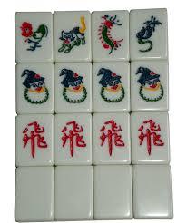 Singapore mahjong tiles