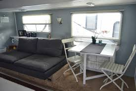 Image Of Style Travel Trailer Remodeling Ideas