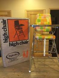 Evenflo Circus High Chair Recall by Vintage Circus Print Baby Childs High Chair Chrome Tray Retro Mid
