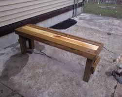simple wooden bench plans home design ideas
