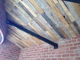 100 Wood Cielings Scrapwood Ceiling In 2019 Ceilings Pallet