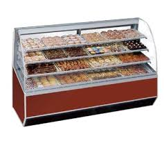 Federal 90 Non Refrigerated Bakery Case