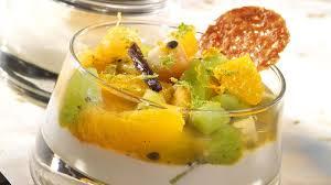 salade de fruits grillés au yaourt grec