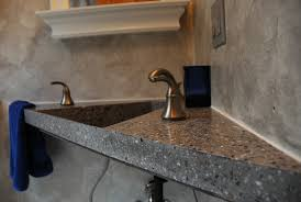 Small Wall Mounted Corner Bathroom Sink by Marveled Designs Photo Gallery