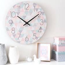 chambre zoe chambre zoe horloge en bois pastel d 50 cm zoa chambre chambre zoe