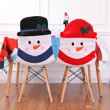 Christmas Decoration Santa Claus Red Hat Chair Back Cover For Home Party  Holiday Christmas Dinner Table Decor LE115 Stretch Cover Wedding Decoration For Folding Chair Party Set For Or Another Catered Event Dinner Beautiful Ceremony White Wooden Chairs Details About Spandex Chair Covers Stretchable Fitted Tight Decorations 80 Best Stocks Of Decorate Home Design Hot Item 6piece Ding By Mainstays Patio Table Umbrella Outdoor Amazoncom Doll Beach Lounger Dollhouse Interior Decorated With Design Fniture Folding Chair Padded Chairs Round Tables White Roof Hfftlh Adjustable Padded Headrest Black Flocking Cover Tradeshow Eucalyptus Branch Natural Aisle
